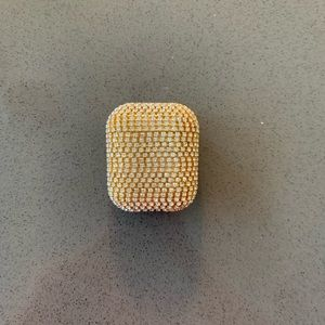 Gold Sparkly AirPod case